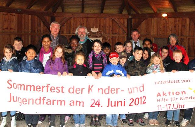 Kinder- und Jugendfarm Bremen e.V. Somemrfest 2012