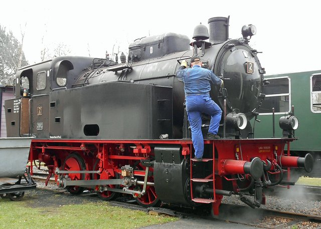 Dampfzugfahrten mit der Historischen Kleinbahn Jan Harpstedt