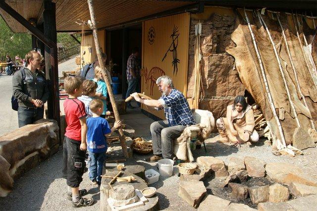 Steinzeit erleben, Dinosaurierpark Münchehagen
