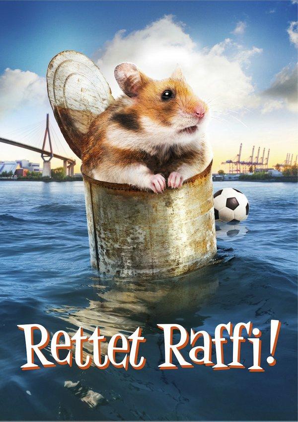 Rettet Raffi Filmplakat