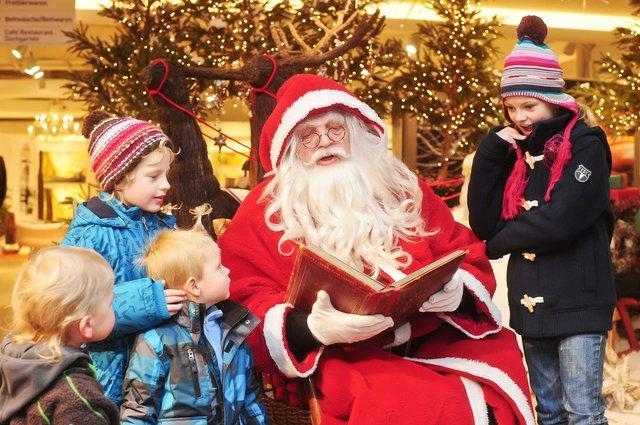 Der Weihnachtsmann kommt, Dodenhof
