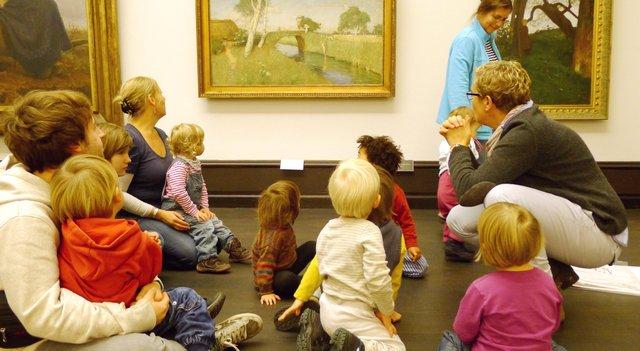 Kunst und Kleinkind, Kunsthalle