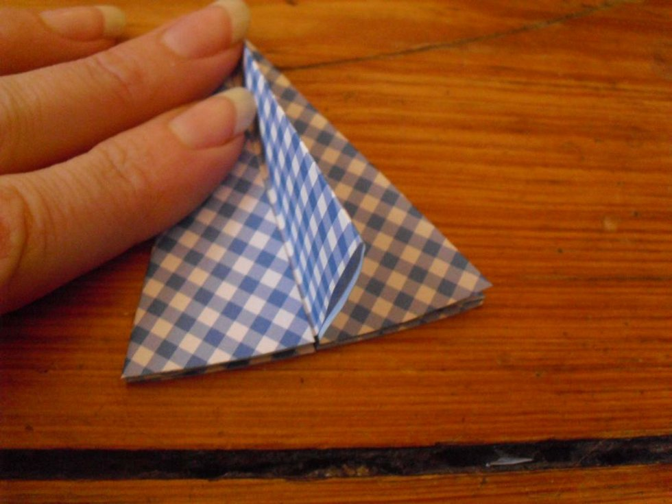 weihnachts diy 8 24 origami diamant. Black Bedroom Furniture Sets. Home Design Ideas