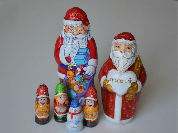 Schokocrossies_Schoko-Weihnachtsmänner