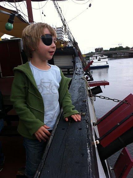 """Pannekoekschip """"Admiral Nelson"""" 1"""