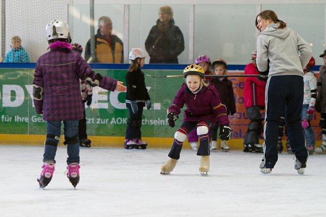 Eislaufschule_1, Paradice Eissporthalle