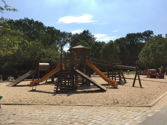 Bürgerpark, Spielplatz