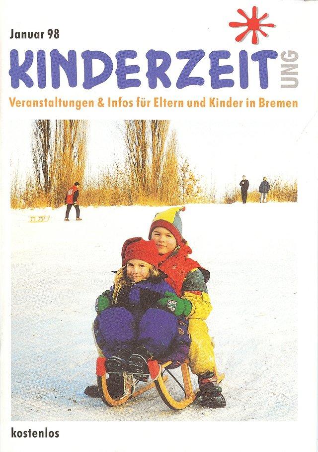 Das erste Cover der kinderzeitung