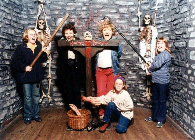 Mit der Kinderredaktion im Hamburger Dungeon