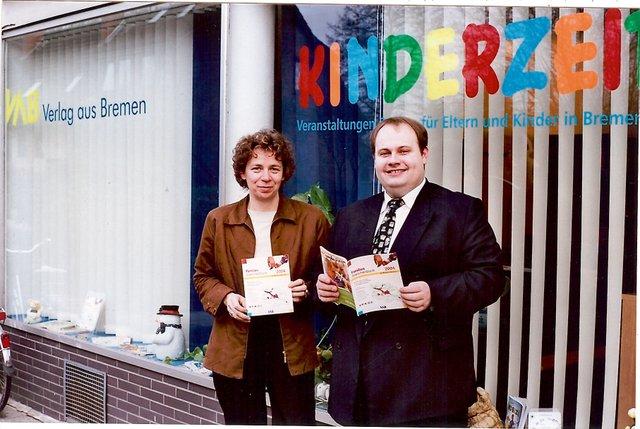 Ulla Hitzelberger-Otto und Christian Humm, Verlagsräume Heiligenbergstraße