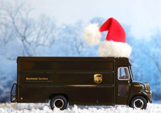 UPS Christmas Truck 2012