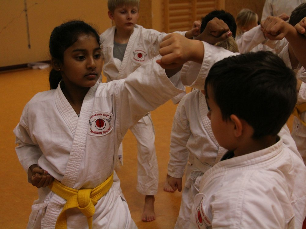 Kinder-Karate, Karate Verein Shogun - Neustadt