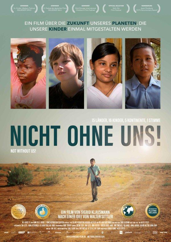 Nicht ohne uns!, Filmplakat