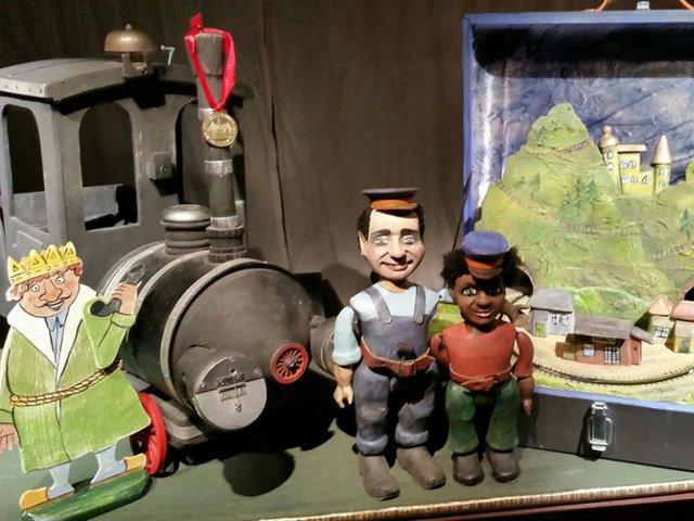 Jim Knopf und Lukas der Lokomotivführer, Mensch Puppe!