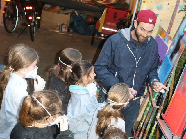 Kunstkurse im Borgfelder Kinderatelier