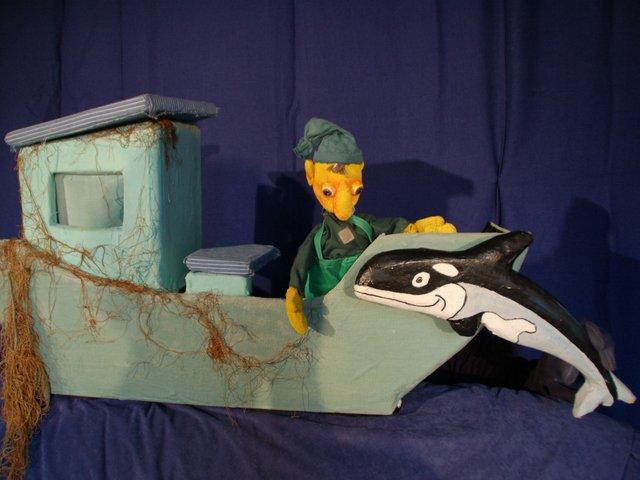 Der kleine Wal, Figurentheater Ekke Neckepen