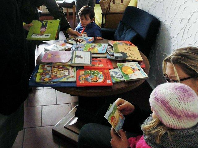 Kinderbuch-Tauschbörse, Familien in Findorff