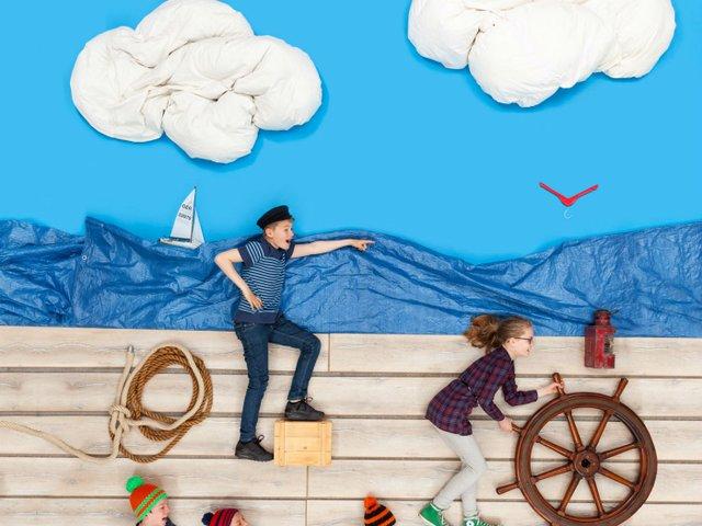 Lilli und Billi hart am Wind, Küstenmuseum Wilhelmshaven