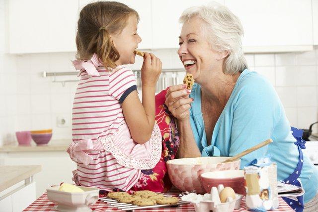 Backen mit den Enkelkindern