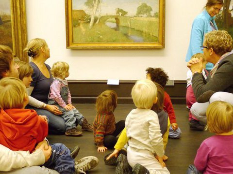 Kunst und Kleinkind, Kunsthalle Bremen