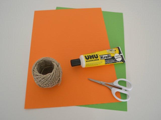 Karottenkette Material