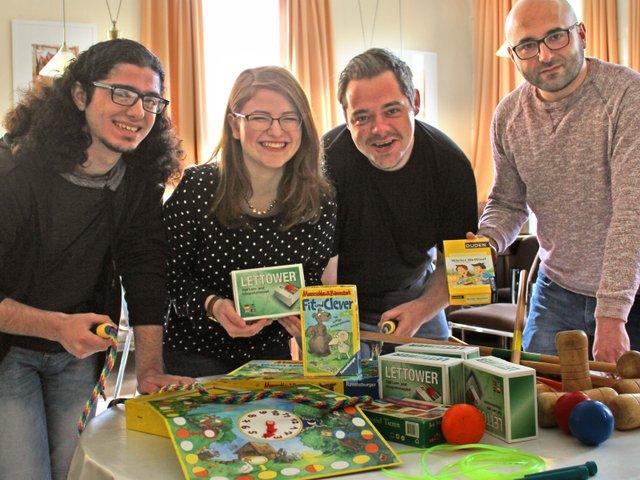 Kinder-Spieletreff, Mehr-Generationen-Haus-Schaumlöffel