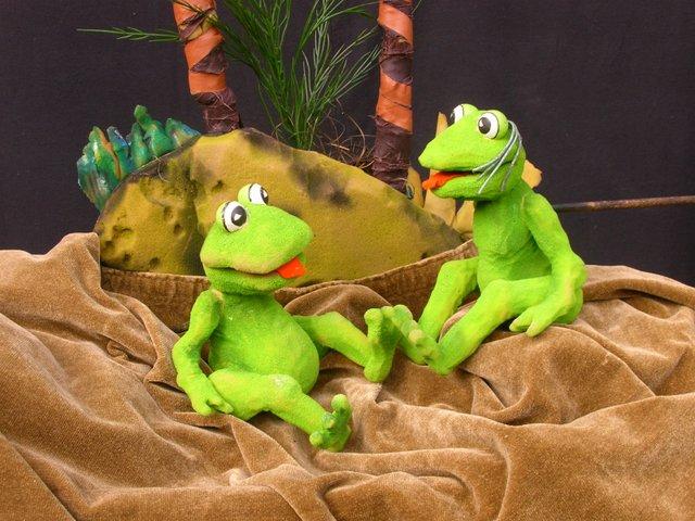 Sei kein Frosch, Lukas, Regenbogen Puppentheater