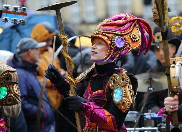 Auftakt zum Sambakarneval