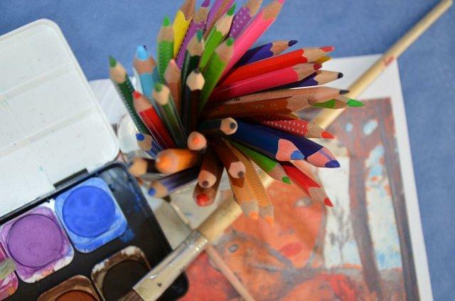 Kleckse, Kunst und Abenteuer