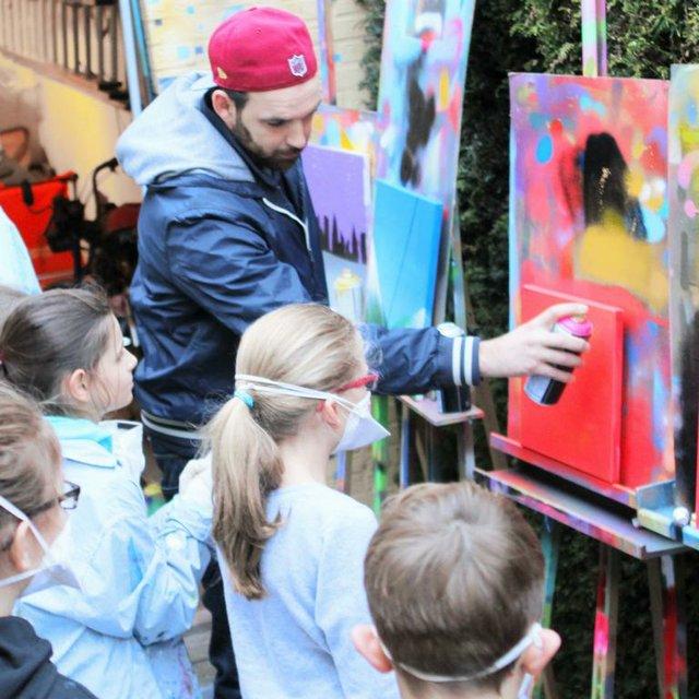 Grafftit und Street-Art für Kids