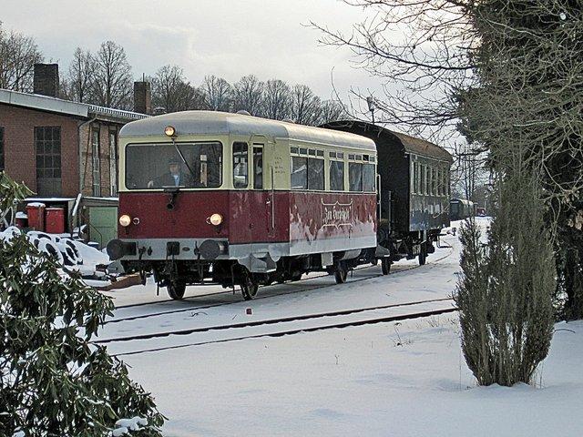 Winter-Triebwagenzugfahrten