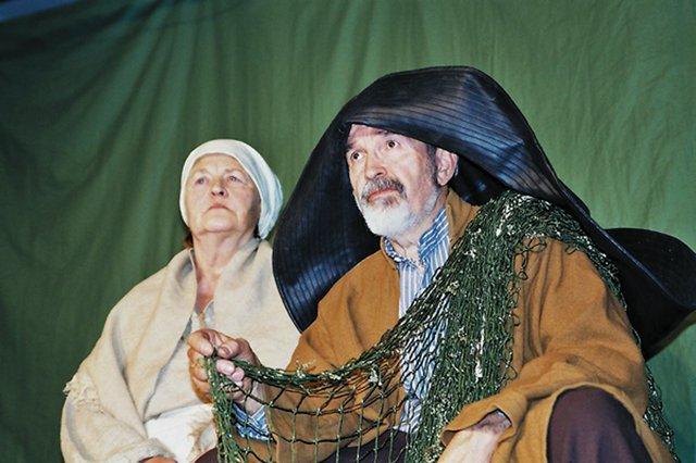 Die Geschichte vom Fischer und seiner Frau