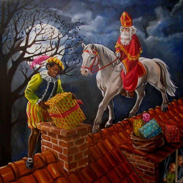 Unterwegs mit Sinterklaas