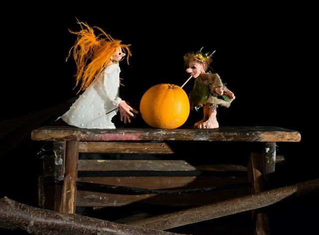 Die Elfe und das Sonnen-Ei