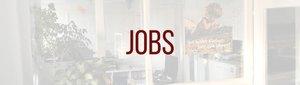Jobs Banner WEISS, TEXT