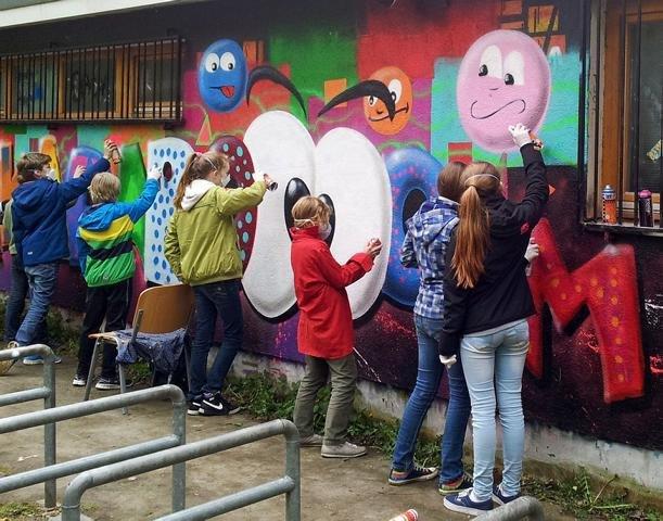 Freihand Graffiti