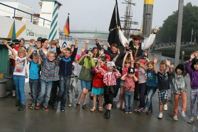 Piraten erobern die Weser