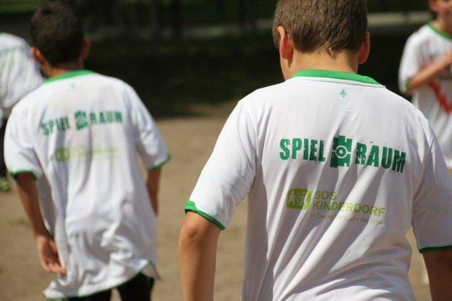 Bolzen mit dem SV Werder