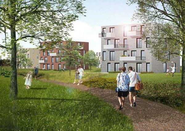 Ein neuer Stadtteil für Bremen
