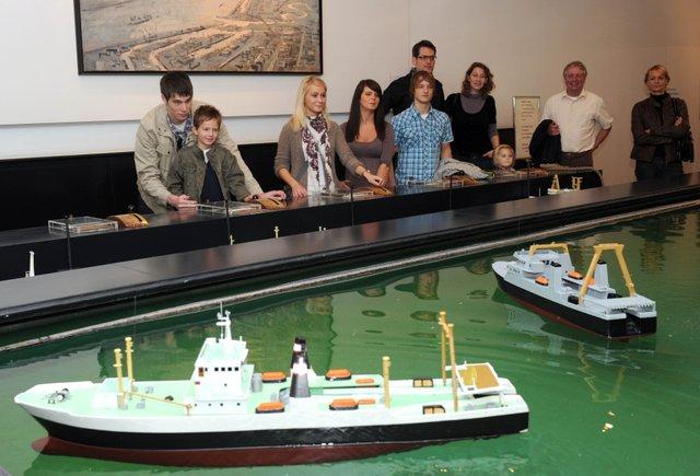 Deutsches Schiffahrtsmuseum Bremerhaven - Schöne Grüße aus Singapur