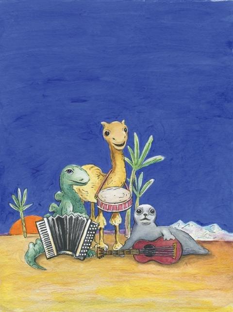 Von Dinos, Seehunden und Kamelen