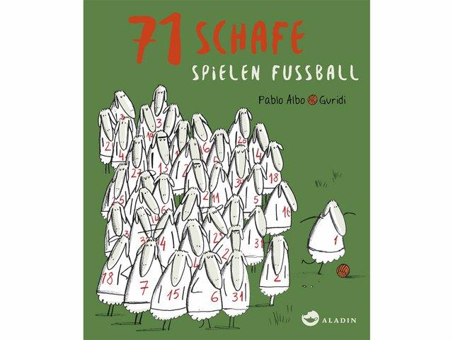 COVER 71 Schafe spielen Fußball 4x3