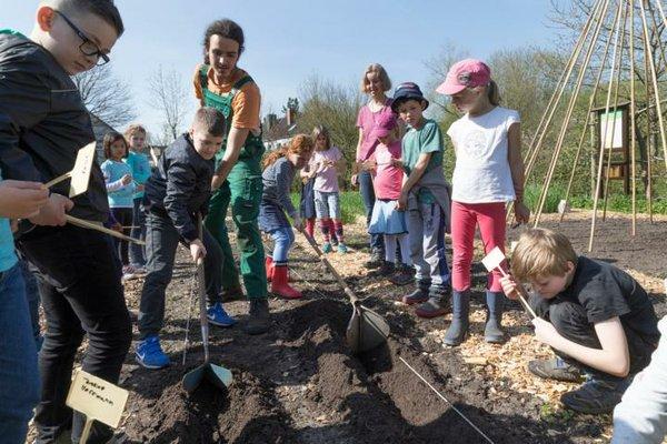 Garten macht Schule