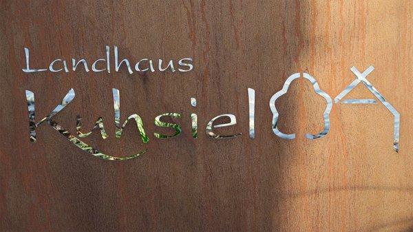 Landhaus Kuhsiel Schild