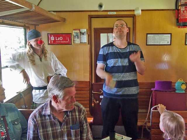 Drei Zauberer bei Jan Harpstedt