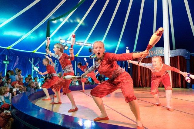 Zirkusspaß in Ottersberg – Eine Frage des Herzens, Circus Ubuntu