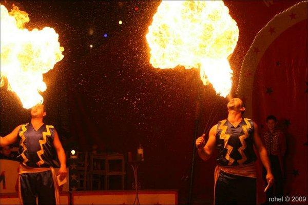 Circus Montana - Feuerspucker