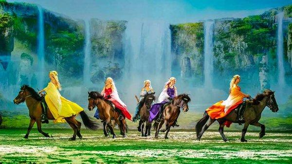 Cavalluna: Welt der Fantasie