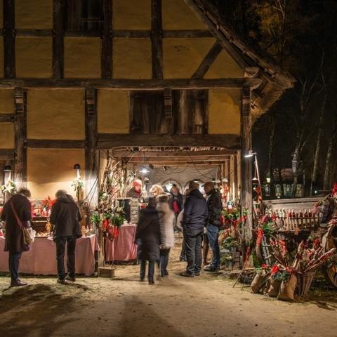 Nikolausmarkt - Museumsdorf Cloppenburg