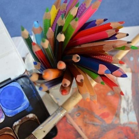 Kleckse, Kunst und Abenteuer Kinderatelier in den Museen Böttcherstraße